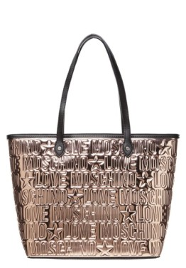 Love Moschino Shopping Bag Metallic