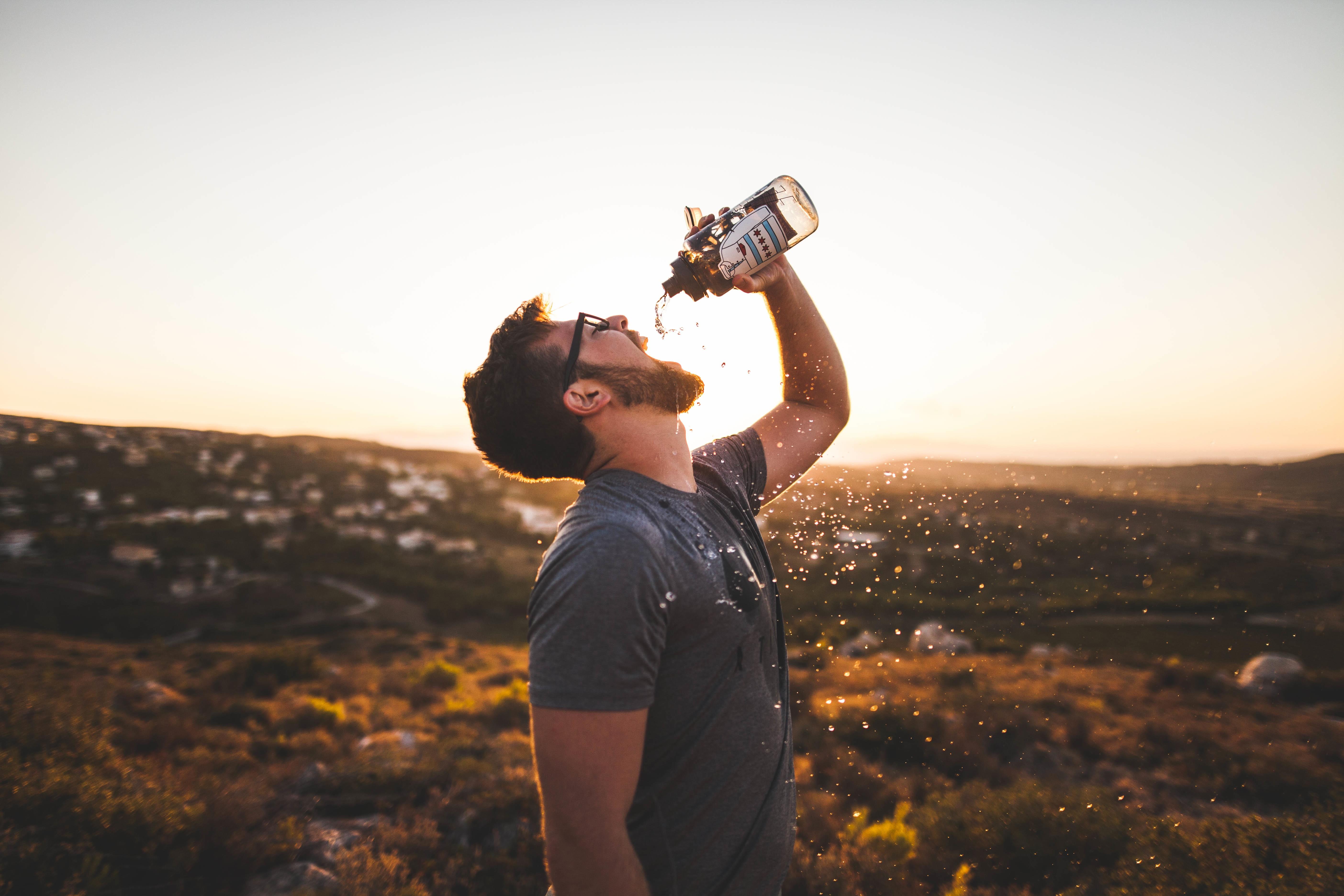 Trinkflaschen als modische Accessoires