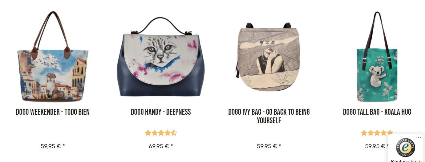 Stylische Taschen und Schuhe der türkischen Marke Dogo